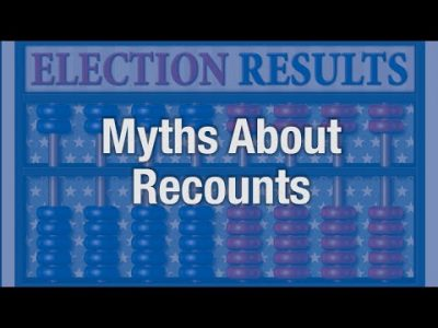 Myths About Recounts